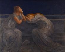 Gaetano Previati, Notturno (Il silenzio)