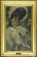 Gaetano Previati, Ritratto di Erminia Cairati