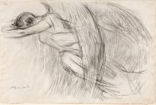 Gaetano Previati, Studio per Maternità   Study for Maternity