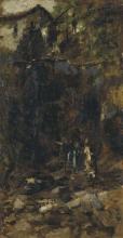 Gaetano Previati, Tra i monti