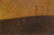 Gaetano Previati, Trafugamento del corpo di Cristo | Stealing of the body of Christ