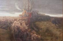 Gaetano Previati, Trittico della Battaglia di Legnano: La battaglia del Carroccio