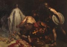 Gaetano Previati, Una pia donzella ai tempi di Alarico