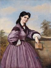 Puccinelli (attribuito a), Fanciulla con libro.png
