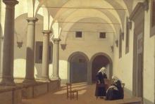 Puccinelli, Chiostro dell'Ospedale del Ceppo a Pistoia.jpg