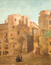Puccinelli, Incontro sotto le mura.png