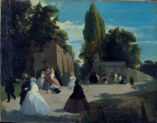 Puccinelli, La passeggiata del Muro Torto.jpg