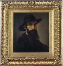 Antonio Puccinelli, Ritratto del patriota Curio Nuti
