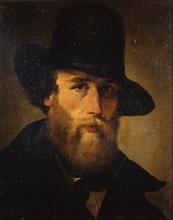 Puccinelli, Ritratto del pittore Emilio Donnini.png