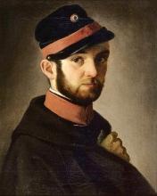 Antonio Puccinelli, Ritratto di giovane volontario toscano