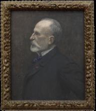 Pierre Puvis de Chavannes, Autoritratto | Autoportrait | Self-portrait [1889]