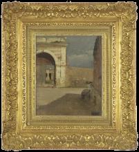 Giovanni Battista Quadrone, Alt in Sardegna. Studio