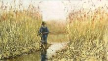 Giovanni Battista Quadrone, Cacciatore nell'erba alta