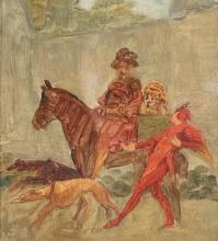 Giovanni Battista Quadrone, Caricatura