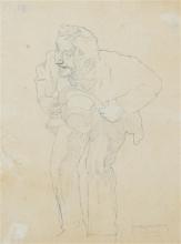 Giovanni Battista Quadrone, Figura di anziano