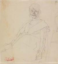 Giovanni Battista Quadrone, Giovane donna che ride I