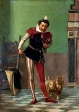 Giovanni Battista Quadrone, Giullare con cani