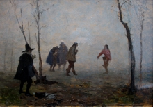 Giovanni Battista Quadrone, Il duello
