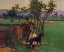 Giovanni Battista Quadrone, L'alba del cacciatore
