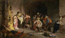 Giovanni Battista Quadrone, La spartizione del bottino