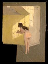 Giovanni Battista Quadrone, Nudo femminile nello studio