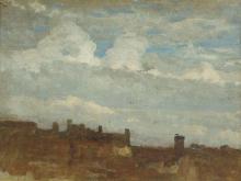 Giovanni Battista Quadrone, Paesaggio con nuvole