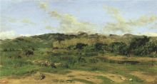 Giovanni Battista Quadrone, Paesaggio sardo