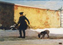 Giovanni Battista Quadrone, Partenza per la caccia