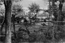 Giovanni Battista Quadrone, Quiete nel bosco