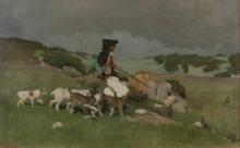 Giovanni Battista Quadrone, Ritorno dalla caccia, Sardegna