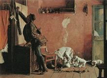 Giovanni Battista Quadrone, Ritorno dalla caccia