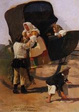 Giovanni Battista Quadrone, Ritorno dalla festa, Sardegna