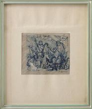 Giovanni Battista Quadrone, Studio di figure