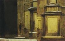Giovanni Battista Quadrone, Studio per Il mercoledì delle Ceneri