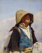 Giovanni Battista Quadrone, Studio per Lo spaventapasseri