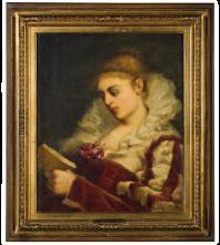 Daniele Ranzoni, Donna che legge