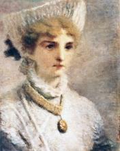 Daniele Ranzoni, Giovinetta in bianco