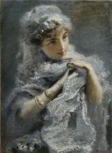 Daniele Ranzoni, Giovinetta inglese