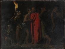 Daniele Ranzoni, Il bacio di Giuda