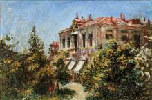 Daniele Ranzoni, La villa del principe Dolgoroncky a Belgirate