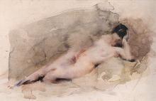 Daniele Ranzoni, Nudo di donna