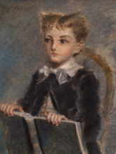Daniele Ranzoni, Ritratto del bambino Riccardo Borioli
