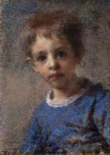 Daniele Ranzoni, Ritratto del bambino William Morisetti