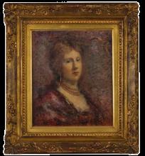 Daniele Ranzoni, Ritratto della baronessa Francfort