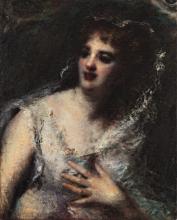 Daniele Ranzoni, Ritratto della principessa Ada Troubetzkoy