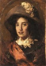 Daniele Ranzoni, Ritratto della principessa Troubetzkoy a Intra