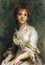 Daniele Ranzoni, Ritratto della signora Pisani Dossi