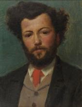 Daniele Ranzoni, Ritratto di Agostino Rossi
