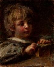 Daniele Ranzoni, Ritratto di Ettore Nicò