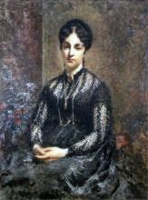 Daniele Ranzoni, Ritratto di donna Maria Padulli in Greppi